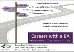 Careers with a BA