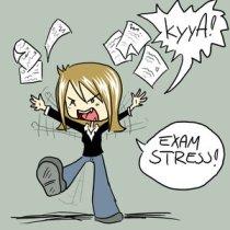 Exam stress3