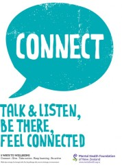 Connect - Talk & listen, Be there, Feel Connected