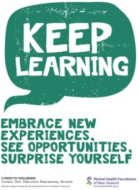Keep learning: Embrace new experiences, See opportunities, Surprise yourself