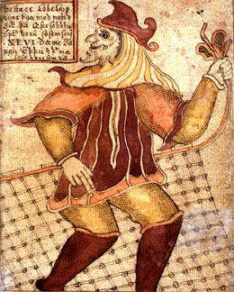 Loki, from an 18th-century Icelandic manuscript