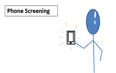 Phone screening
