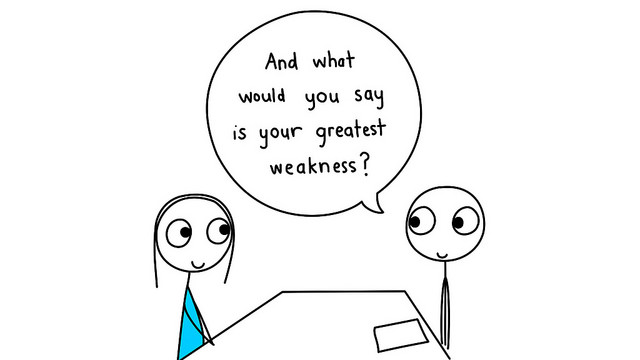 Interview Question U2013 U0027What Would You Consider To Be Your Biggest Weakness?u0027  | Careers And Employment