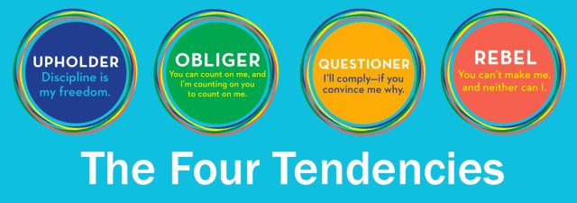 Gretchen Rubin's Four Tendencies image